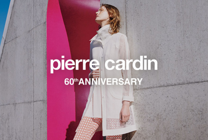 pierre cardin 60th ANNIVERSARY
